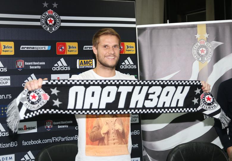 Балажиц стал игроком Партизана - изображение 1