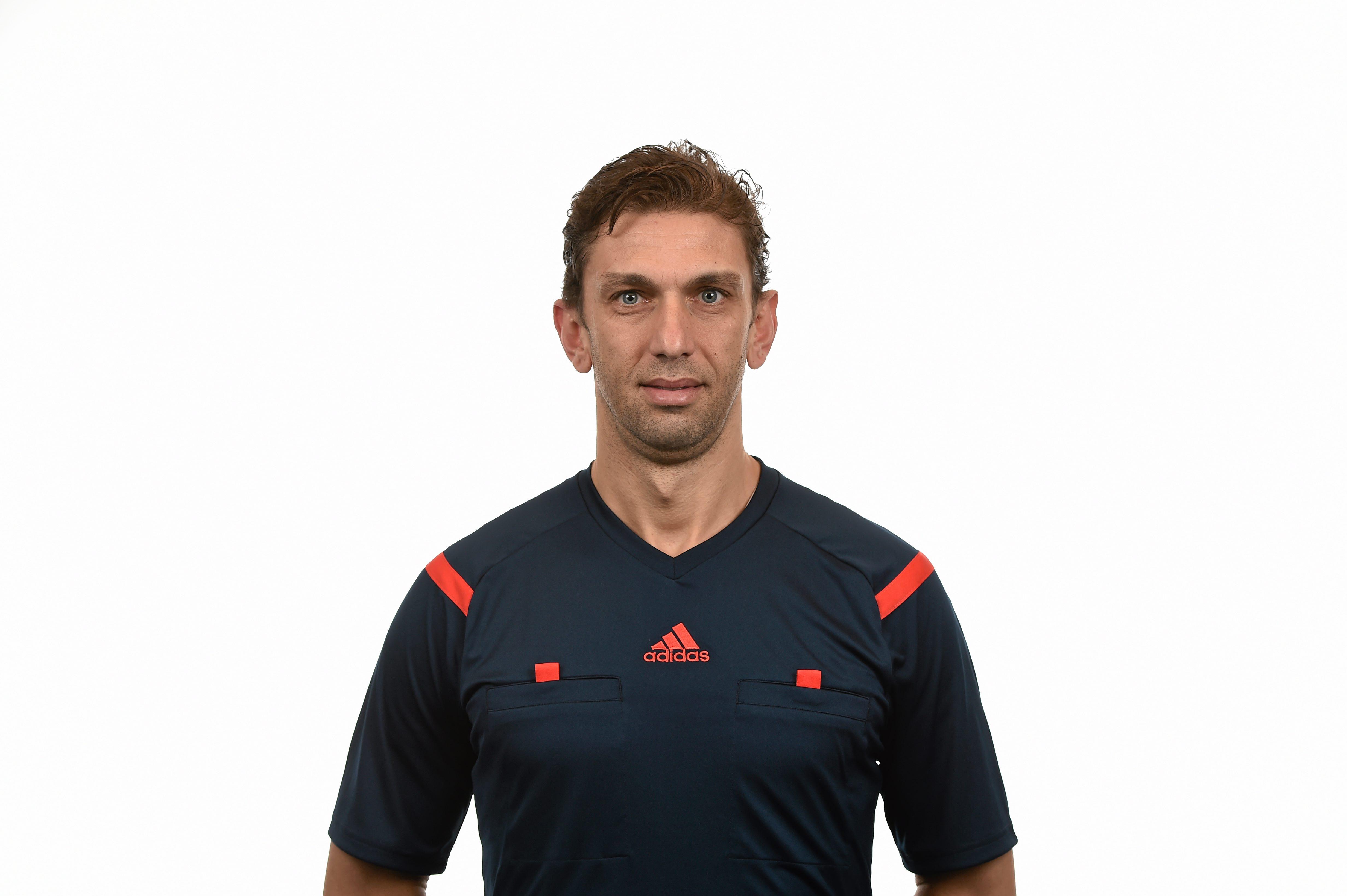 UEFA Referee Paolo Tagliavento of Italy